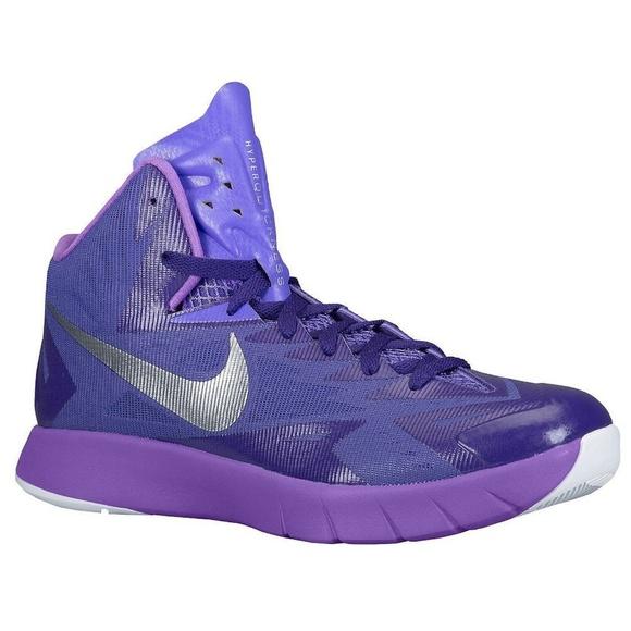 nuevas imágenes de zapatos para correr Buenos precios Nike Shoes | Lunar Hyperquickness Purple Basketball | Poshmark